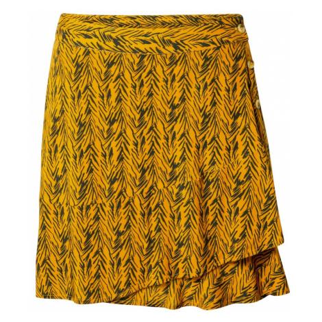 Noisy may Spódnica 'BEAGLE' złoty żółty / antracytowy