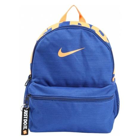 Nike Sportswear Plecak 'Nike Brasilia JDI' niebieski / pomarańczowy