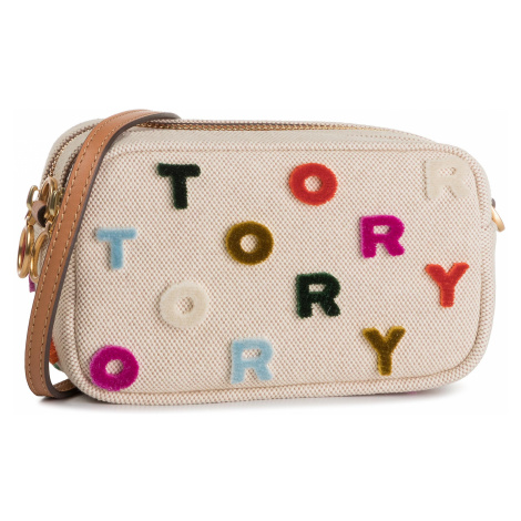 Torebka TORY BURCH - Mini Cross Body Bag 56297 Natural/ Multi Color 265