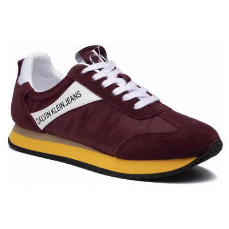 Sneakersy CALVIN KLEIN JEANS - Jill R8527 Multi Beet Red