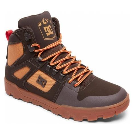 DC buty zimowe męskie Pure Ht Wr Boot M Boot Ch6 Chocolate Brown 44