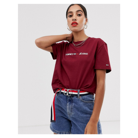Tommy Jeans clean logo t-shirt Tommy Hilfiger