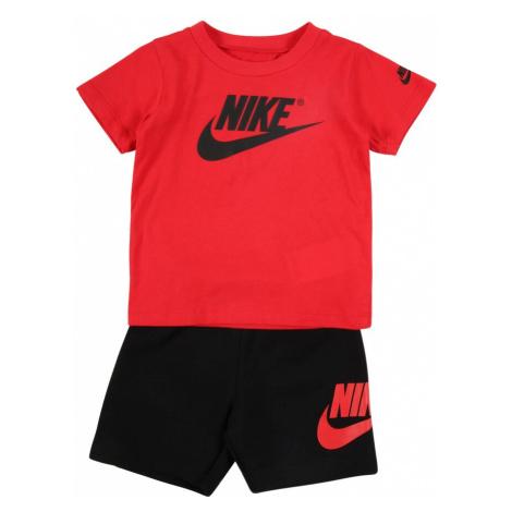 Nike Sportswear Zestaw 'Futura' czarny / czerwony