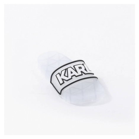 Klapki damskie Karl Lagerfeld Kondo Klear Slide KL80710 VCL