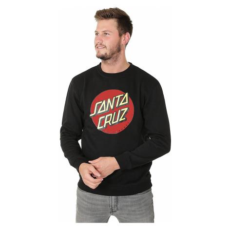 bluza Santa Cruz Classic Dot Crew - Black