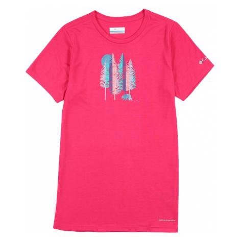 COLUMBIA Koszulka funkcyjna 'Ranco Lake™' różowy