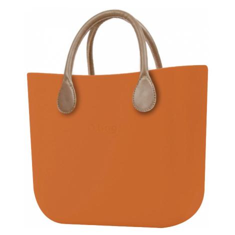 O bag torebka MINI Mattone z krótką skajką Tortora
