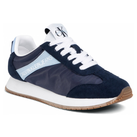 Sneakersy CALVIN KLEIN JEANS - Jill R8527 Navy/Chambray Blue