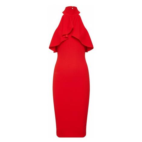 Missguided Sukienka koktajlowa czerwony