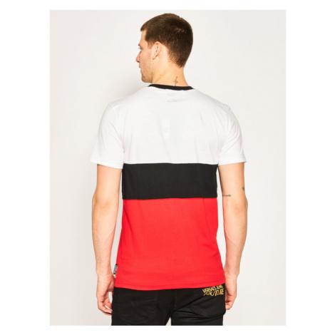 DC T-Shirt EDYKT03493 Biały Regular Fit