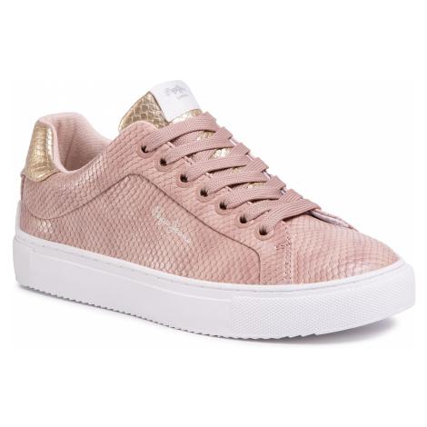 Sneakersy PEPE JEANS - Adams Lamu PLS30959 Light Pink 315