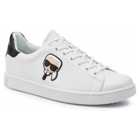 Sneakersy KARL LAGERFELD - KL51209 White Lthr