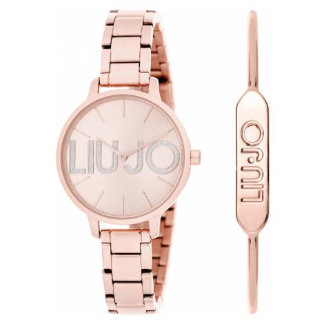 Liu Jo Couple Zegarek Beżowy