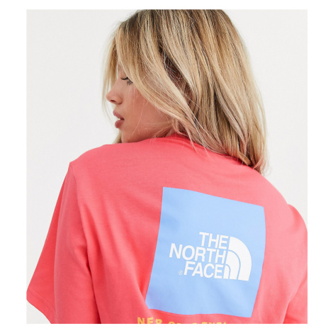 The North Face Red Box t-shirt in coral