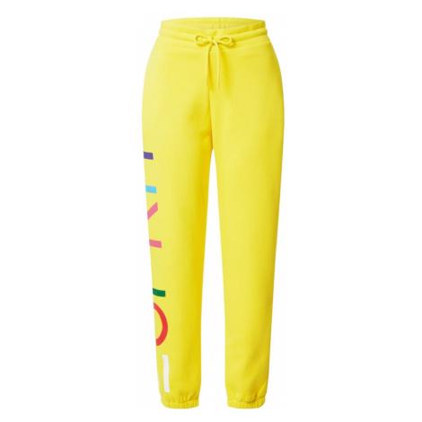ESPRIT Spodnie żółty / mieszane kolory