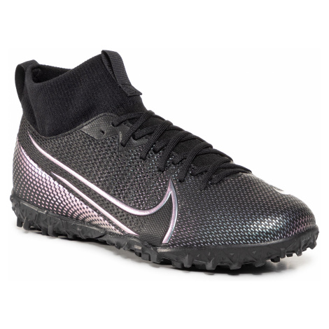 Buty NIKE - Jr Superfly 7 Academy Tf AT8143 010 Black/Black