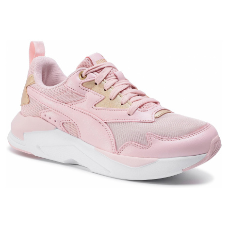 Sneakersy PUMA - X-Ray Lite Metallic 374737 02 Peachskin/Peachskin/Gold