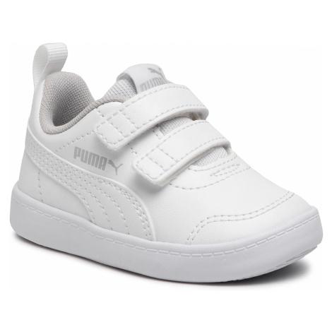 Sneakersy PUMA - Courtflex V2 V Inf 371544 04 Puma White/Gray Violet