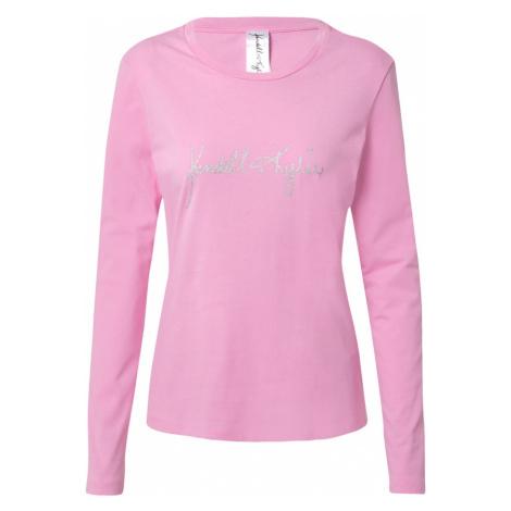 KENDALL + KYLIE Koszulka różowy / srebrny