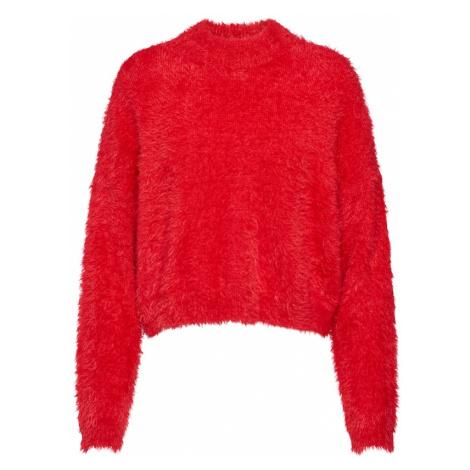 ONLY Sweter czerwony