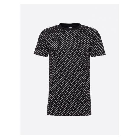 Urban Classics Koszulka czarny / biały