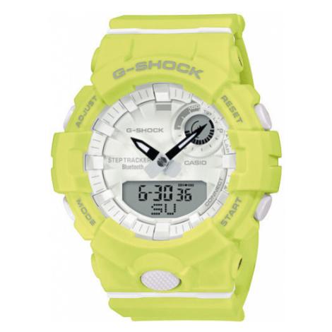 G-Shock Zegarek GMA-B800-9AER Żółty Casio