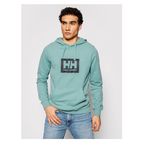 Helly Hansen Bluza Box 53289 Zielony Regular Fit