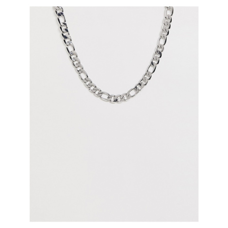 DesignB chunky figaro chain necklace in silver DesignB London