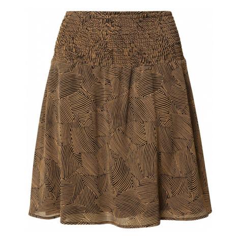 MOSS COPENHAGEN Spódnica 'Ophelie Rikkelie' czarny / brązowy