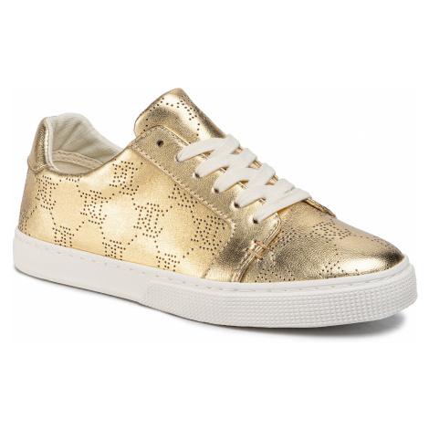 Sneakersy LAUREN RALPH LAUREN - Joslin 802775373001 Gold Rush
