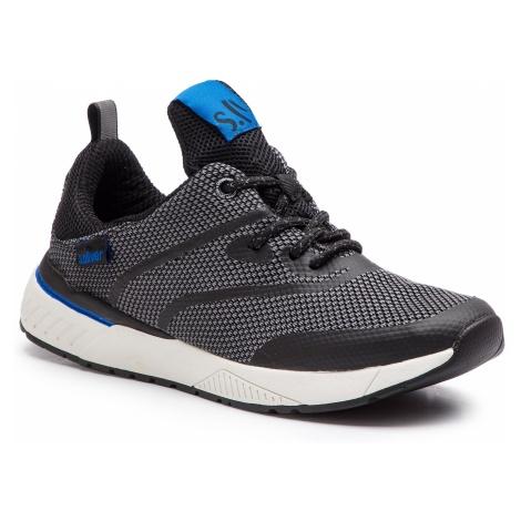 Sneakersy S.OLIVER - 5-13607-22 Black 001