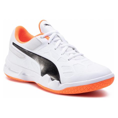 Buty PUMA - Tenaz Jr 104890 02 White/Black/Orange