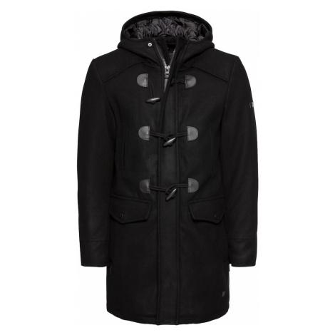 INDICODE JEANS Płaszcz zimowy 'Liam Solid' czarny
