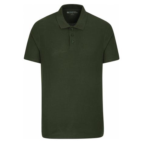 Strad - męskie polo - Green