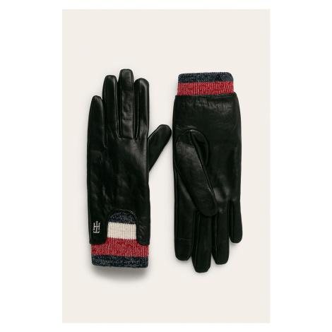 Tommy Hilfiger - Rękawiczki skórzane