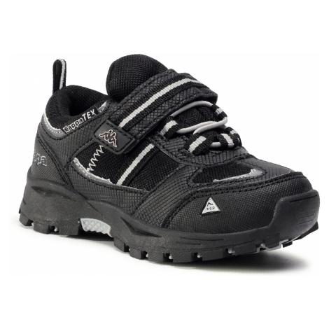 Sneakersy KAPPA - Hovet Tex Low K 260845K Black/Silver 1115