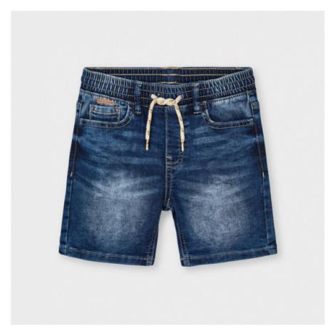 Mayoral Szorty jeansowe 3227 Granatowy Regular Fit