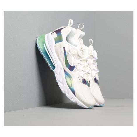 Nike Air Max 270 React 20 (GS) Summit White/ Multi-Color-Platinum Tint