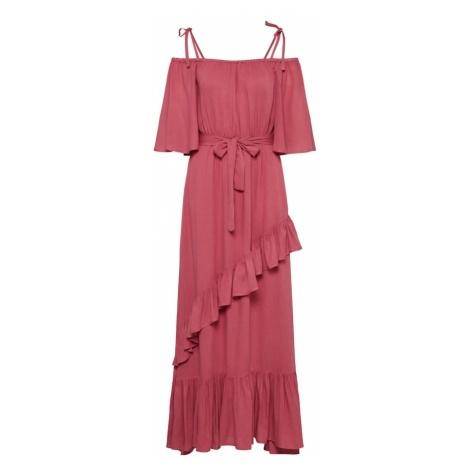 Y.A.S Letnia sukienka 'BELLO' różowy pudrowy