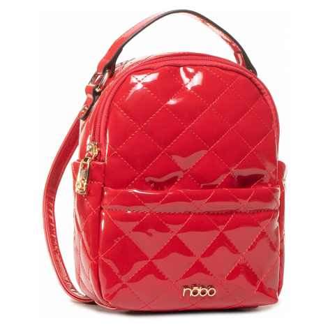 Plecak NOBO - NBAG-J1230-C005 Czerwony