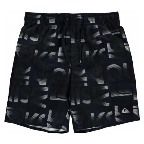 Quiksilver Reef Typo Board Shorts Junior Boys