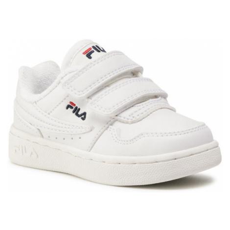 Fila Sneakersy Arcade Velcro Infants 1011078.1FG Biały