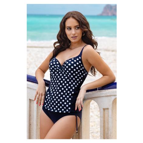 Górna część damskiego kostiumu kąpielowego tankini Lucy z fiszbinami Astratex
