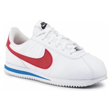 Buty NIKE - Cortez Basic Sl (GS) 904764 103 White/Varsity Red