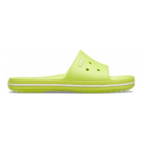 Klapki Crocs Crocband III Slide 205733 LIME PUNCH/WHITE
