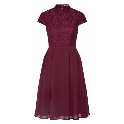 Chi Chi London Sukienka koktajlowa 'LINA' burgund