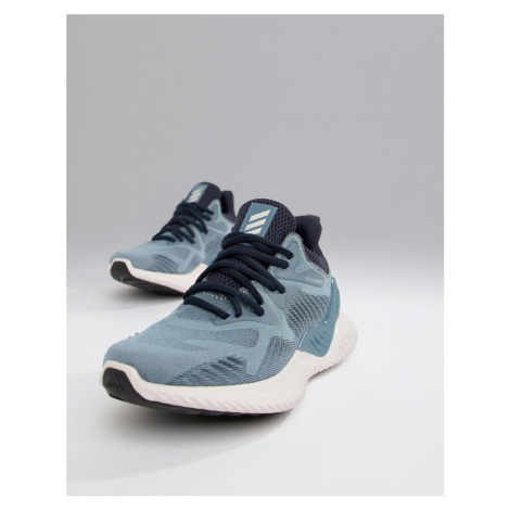 Adidas Running Alphabounce Trainers In Blue