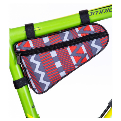 Gray patterned bicycle sachet