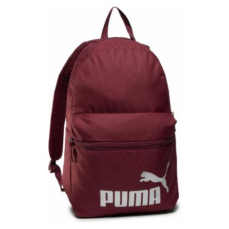 Plecak PUMA - Phase Backpack 075487 48 Burgundy/Silver Logo