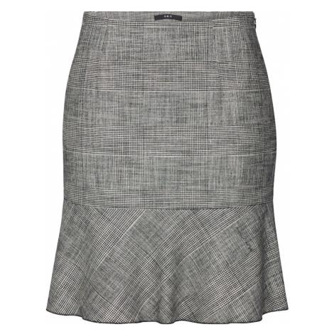 SET Spódnica czarny / offwhite